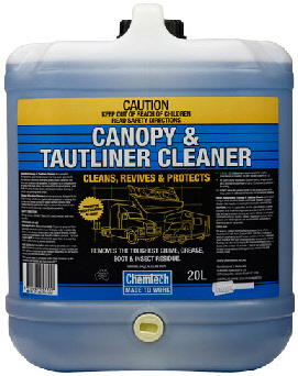 Powerful biodegradable u0027streak-freeu0027 cleaner that cleans and protects boat canopies truck side tautliners and tarpaulins. Break down and removes the ... & Chemtech: Exterior Care - Canopy u0026 Tautliner Cleaner